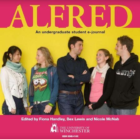 Alfred Edition 1 journal front cover
