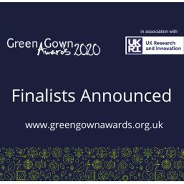 Green Gown Awards Finalists Announcement banner