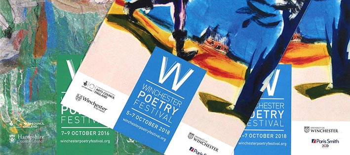 Photo of Winchester Poetry Festival programmes 2018