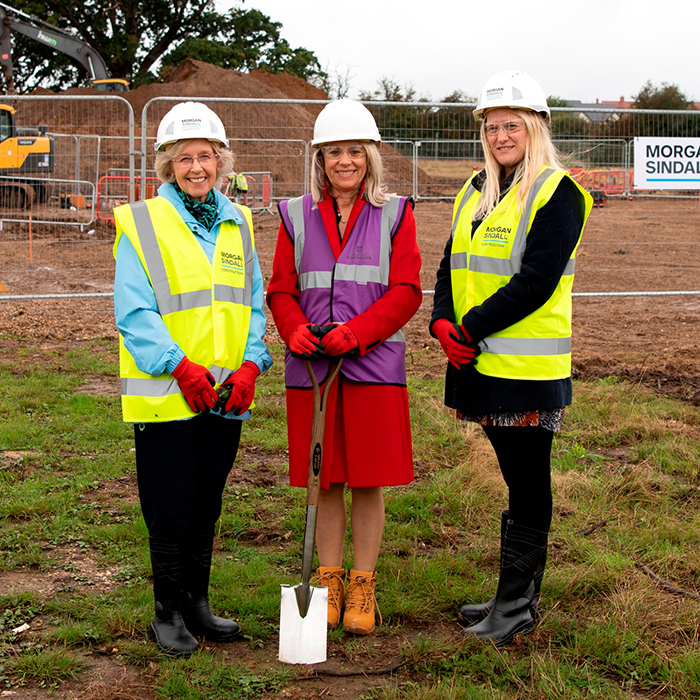 Ground breaking ceremony marks build of second University-sponsored primary academy