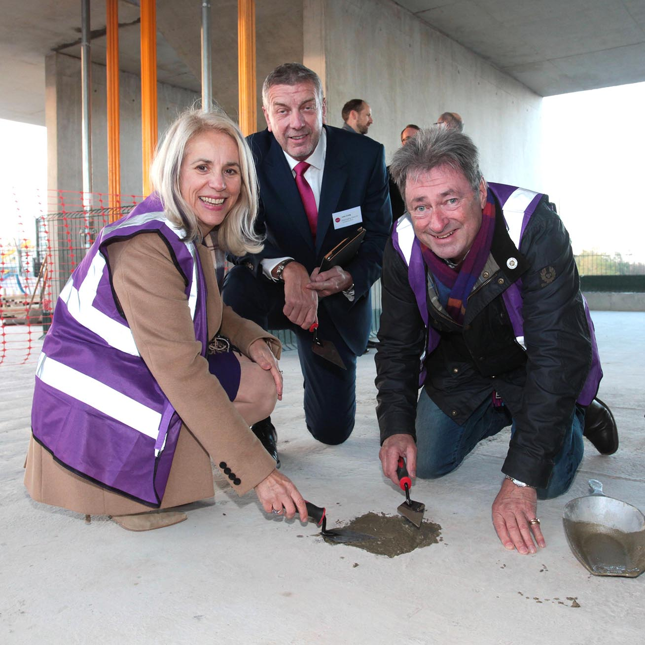 West Downs topping out webpage