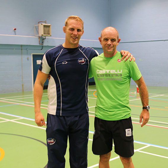 Lewis Moody and Richard Cheetham