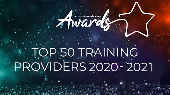 Rate My Apprenticeship awards: Top 50 Training Providers banner