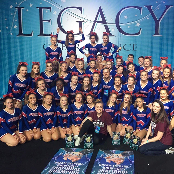 Society profile: Winchester spirits cheerleading